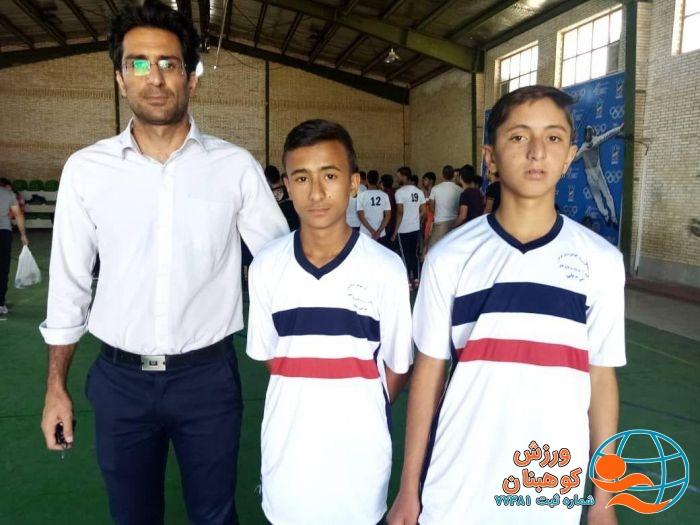 اعزام تیم های ورزش روستایی و بازی های بومی محلی شهرستان کوهبنان در جام خوشه چین استان