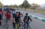 ?همایش دوچرخه سواری نوجوانان شهرستان کوهبنان به مناسبت روز نوجوان