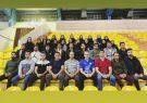شرکت مربیان پایه شهرستان کوهبنان در اولین دوره کلاس دانش افزایی هندبال استان