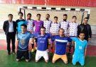 دیدار دوستانه تیم های فوتسال کوهبنان و روستای فیض آباد در سالن ورزشی فیض آباد