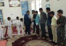 دیدار اعضای هیئت جودو و جودوکاران شهرستان با دانش آموزان مرکز آموزشی امام رضا(ع)