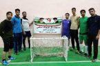 تیم بی بی عصمت (س) قهرمان مسابقات گل کوچک سالنی شهرستان کوهبنان شد