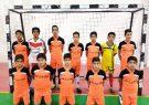 شرکت تیم جهان اسپرت شهرستان کوهبنان در مسابقات لیگ برتر فوتسال استان