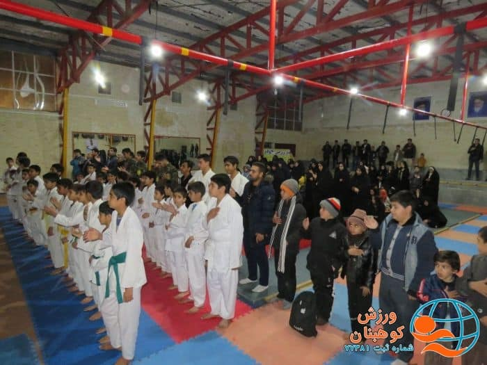 مراسم عزاداری ورزشکاران شهرستان کوهبنان به مناسبت شهادت سپهبد حاج قاسم سلیمانی