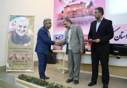 کسب رتبه برتر استانی جشنواره تابستانه با ورزش توسط اداره ورزش و جوانان شهرستان کوهبنان