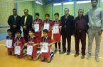 تیم شهید دانشوری قهرمان مسابقات مینی والیبال شهرستان کوهبنان شد