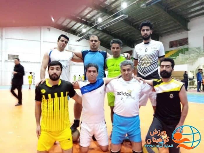 شکست تیم مدعی قهرمانی در مسابقات والیبال شهرستان کوهبنان