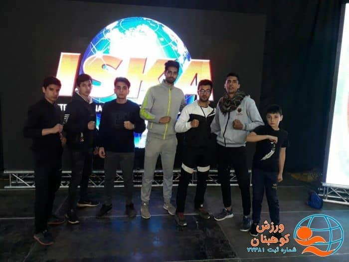 اولین حضور پرافتخار کیک بوکسینگ کاران در استان
