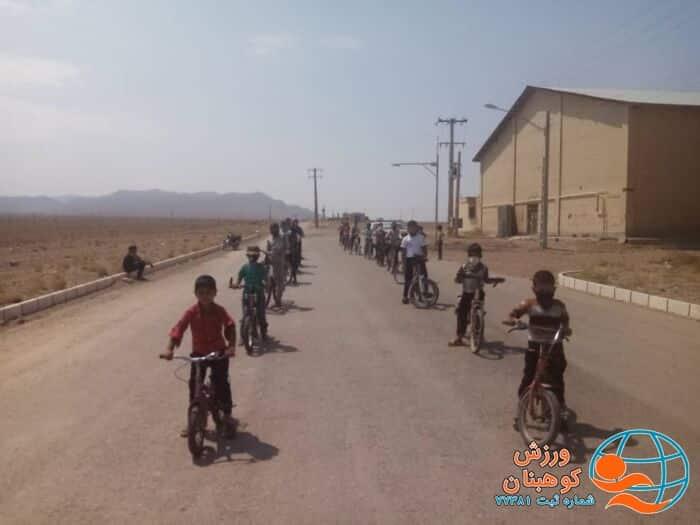 همایش دوچرخه سواری روستایی به مناسبت دهه امامت