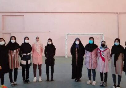 مسابقات امادگی جسمانی بانوان شهرستان کوهبنان به مناسبت هفته دفاع مقدس