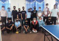 مسابقات تنیس روی میز نوجوانان شهرستان کوهبنان به مناسبت هفته دفاع مقدس