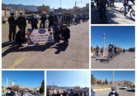 همایش دوچرخه سواری همگانی شهرستان کوهبنان به مناسبت اولین سالگرد شهادت سردار سپهبد شهید حاج قاسم سلیمانی