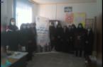 هشتمین روز اجرای طرح ملی ساختار قامتی زنان و دختران روستایی شهرستان کوهبنان (سلمان شهر)