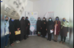 نهمین روز اجرای طرح ملی ساختار قامتی زنان و دختران روستایی شهرستان کوهبنان(طغرالجرد)
