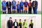 مسابقات فوتسال نوجوانان شهرستان کوهبنان که در سالن تختی برگزار می گردد
