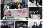 طرح ملی پارک گام ویژه بانوان شهرستان کوهبنان به مناسبت چهل و دومین سالگرد پیروزی انقلاب اسلامی با همکاری هیات ورزش های همگانی