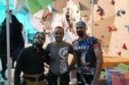 حضور آقای محمد ضیاالدینی مسئول هیئت کوهنوردی شهرستان کوهبنان در دوره مقدماتی سنگنوردی تهران