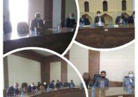 جلسه هماهنگی هیات ورزش روستایی وبازی های بومی محلی شهرستان کوهبنان با دهیاران روستاههای بخش مرکزی