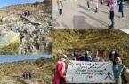 کوهپیمایی همراه با نرمش صبحگاهی دختران بدمینتونیست شهرستان کوهبنان به مناسبت هفته جوان