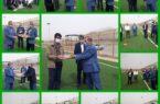 مسابقات بومی محلی ویژه جانبازان شهرستان کوهبنان به مناسبت میلاد حضرت ابوالفضل العباس (ع) وروز جانباز برگزار شد