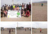 مسابقات فوتبال زمین خاکی نونهالان روستایی شهرستان کوهبنان با شرکت ۶ تیم به مناسبت نوروز ۱۴۰۰ برگزار شد