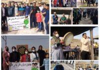 جشنواره بازی های بومی محلی شهرستان کوهبنان همراه با اجرای برنامه های فرهنگی و ورزشی
