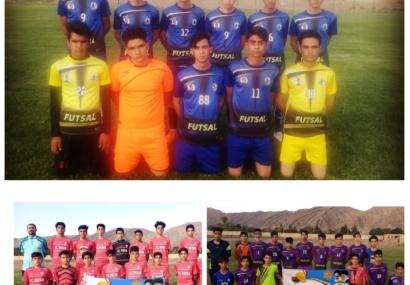 مسابقات چهارجانبه فوتبال فرزندان کارگری شهرستان کوهبنان