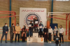 کسب مقام قهرمانی فاطمه محمدحسنی در مسابقات کاپ طلای استان