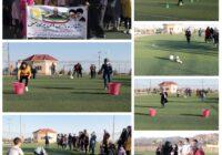 افتتاحیه مدرسه فوتبال دختران بخش طغرالجرد