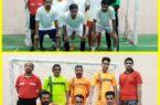 مسابقات فوتسال کارمندان شهرستان کوهبنان بمناسبت هفته قوه قضائیه درسالن ورزشی تختی