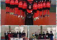 مسابقات فوتسال دختران به مناسبت هفته دفاع مقدس