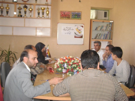 جلسه شورای ورزشی شهرستان