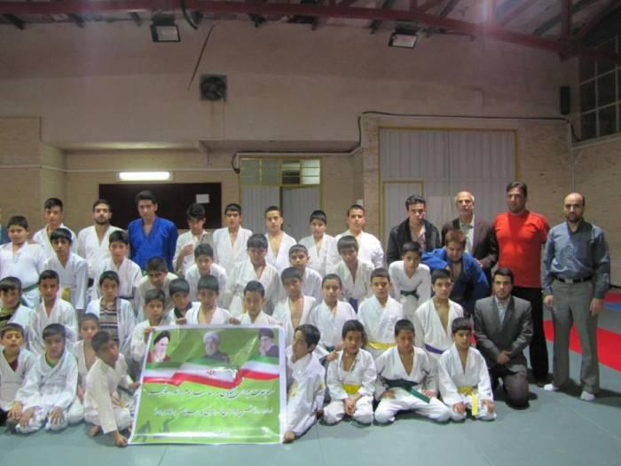 مسابقات جودوی نوجوانان شهرستان کوهبنان برگزار شد
