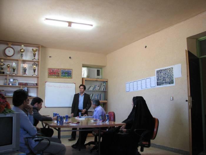 جلسه هماهنگی طرح توسعه