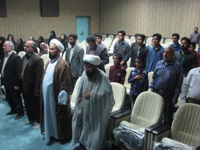 آئین افتتاحیه مسابقات سراسری قرآن ورزشکاران و جوانان شهرستان کوهبنان