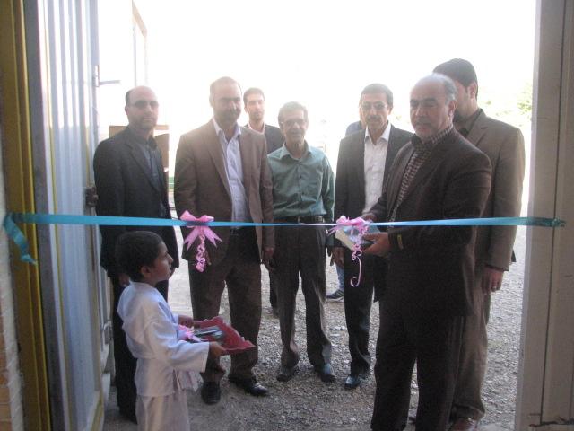 افتتاح خانه جودو شهرستان در هفته دولت