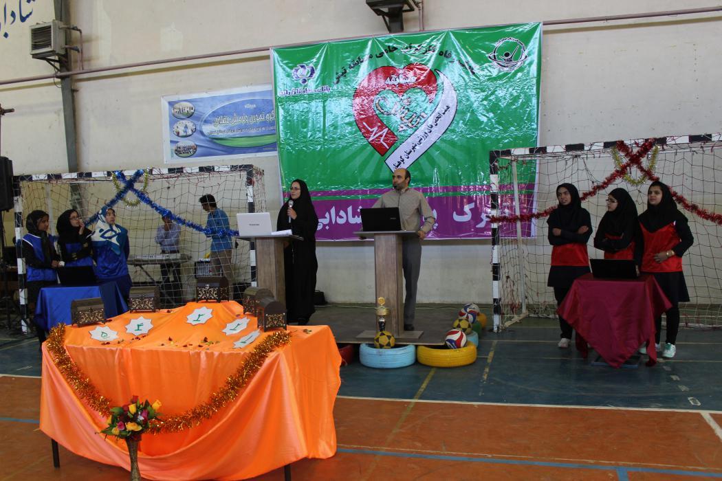 مسابقات تپش در شهرستان کوهبنان