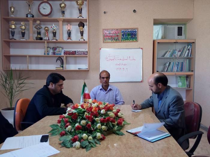 جلسه هم اندیشی  اعضای هیئت انجمنهای ورزشی