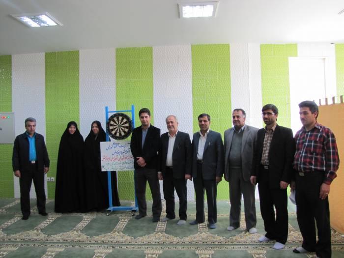 برگزاری مسابقات دارت ویژه اعضای شورای آموزش و پرورش شهرستان کوهبنان