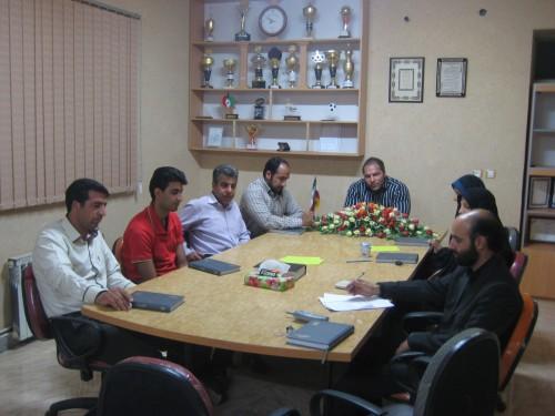 برگزاری جلسه هیئت انجمن  های ورزشی شهرستان کوهبنان