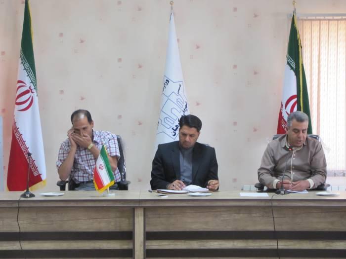 اولین جلسه هم اندیشی شهردار کوهبنان با فعالین عرصه فوتبال شهرستان
