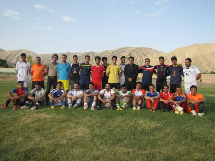 بازدید مسئول هیات فوتبال از تمرینات تیم منتخب فوتبال شهرستان